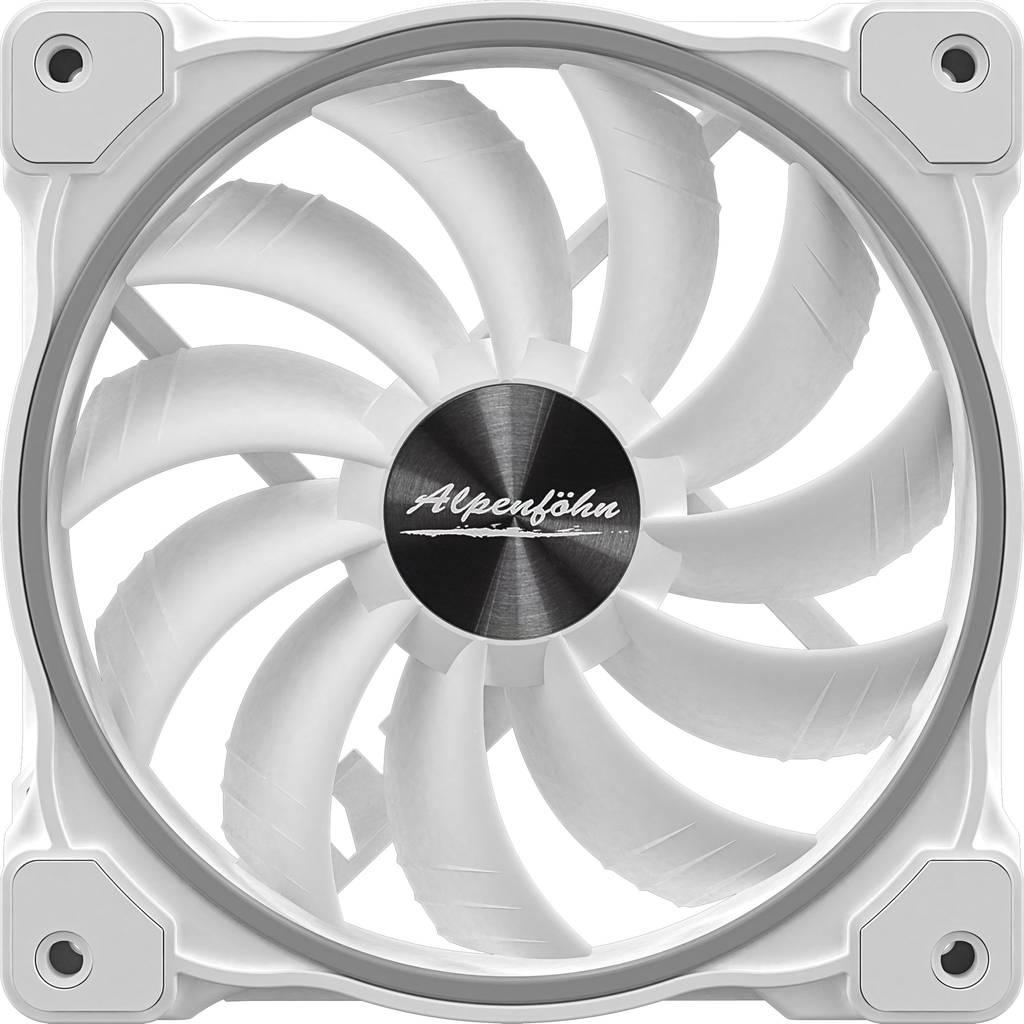 Alpenfoehn Wing Boost 3 ARGB White Edition Triple 120mm Fans