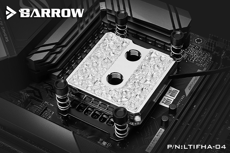 Barrow Icicle series jetting type micro waterway CPU block (Brass Edition) for AMD platform