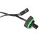 "Bitspower G1/4"" Matt Black Temperature Sensor Stop Fitting"
