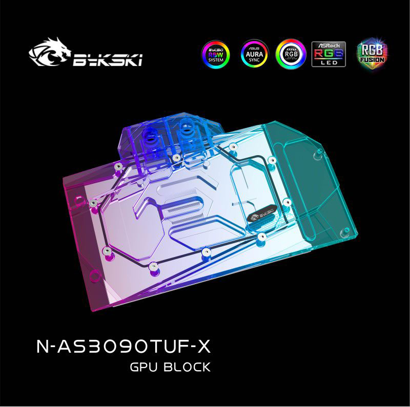 Bykski N-AS3090TUF-X GPU BLOCK ASUS TUF-RTX3090/3080 GAMING