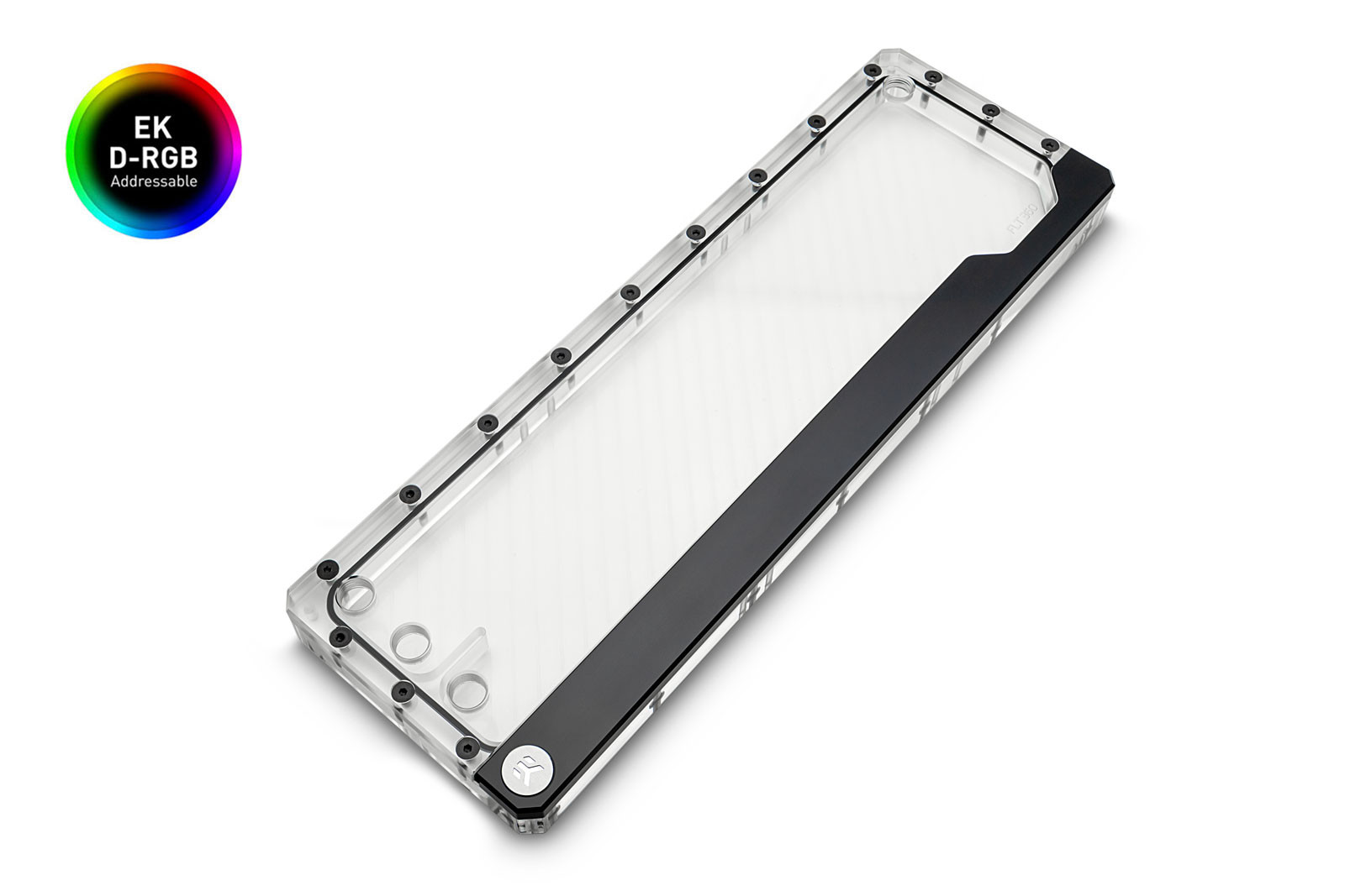 EK Water Blocks EK-Quantum Volume FLT 360 D-RGB - Plexi