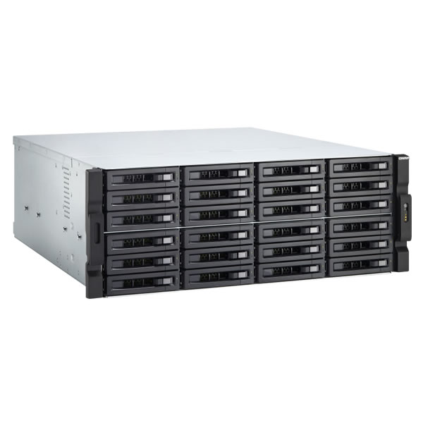 QNAP TVS-2472XU-RP-i5-8G 12ベイ ラックマウントNASキット