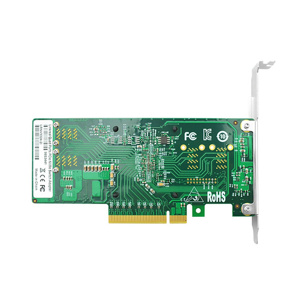 LRNV9324-2I Dual Port PCIe 3.0 x8 to U.2 SFF-8643 NVMe Host Bus Adapter