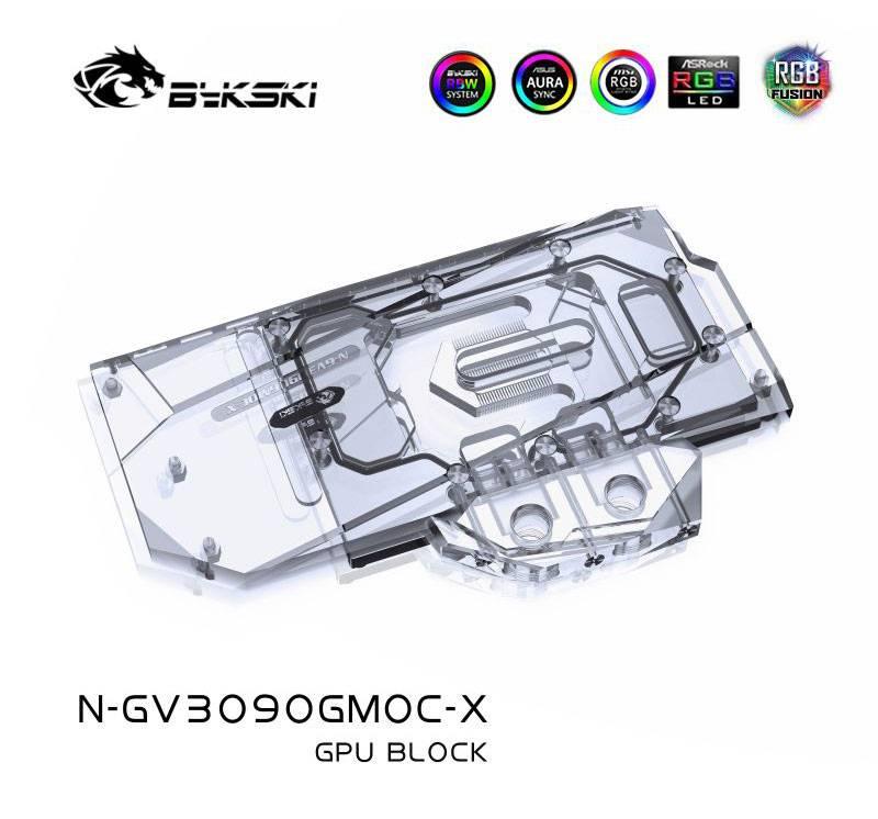 Bykski N-GV3090GMOC-X Giga 3080 GAMING OC GPU BLOCK Radiator