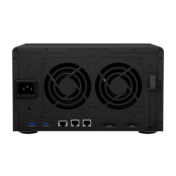 Synology DiskStation DS1621xs+ 10GbE 3.5インチHDD6台搭載可能