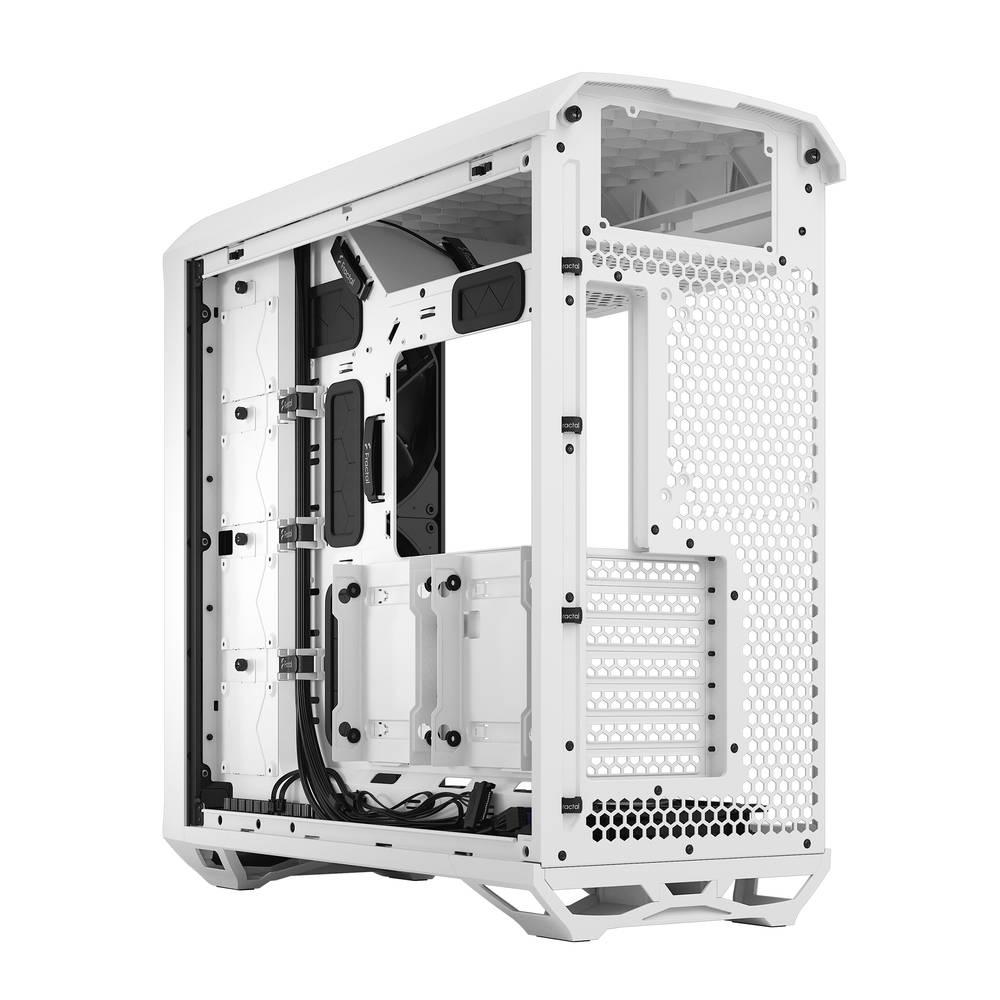 【取寄せ商品:納期要確認】 Fractal Design Torrent White TG Clear Tint (FD-C-TOR1A-03)