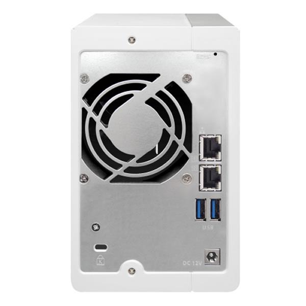 QNAP TS-231P2 2.5/3.5インチHDD 2台搭載可能