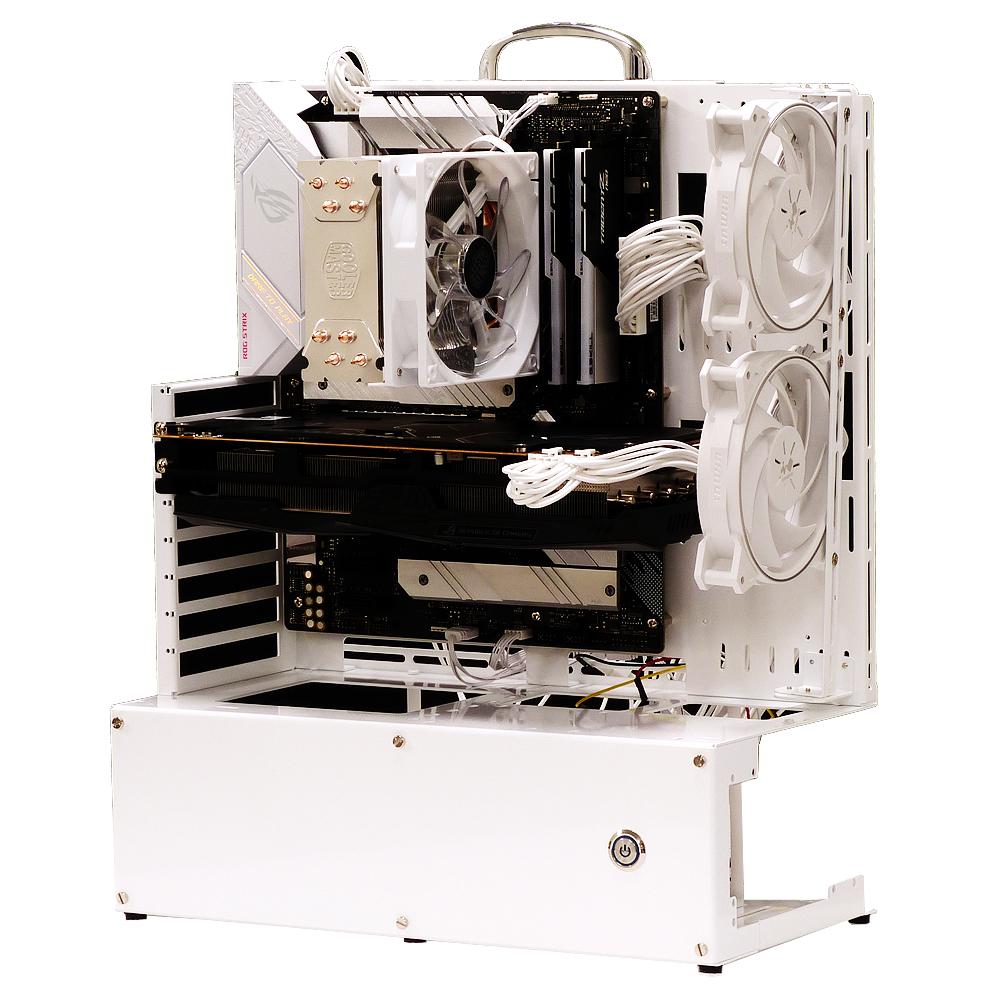 長尾製作所 オープンフレーム ver.E-ATX ホワイトエディション