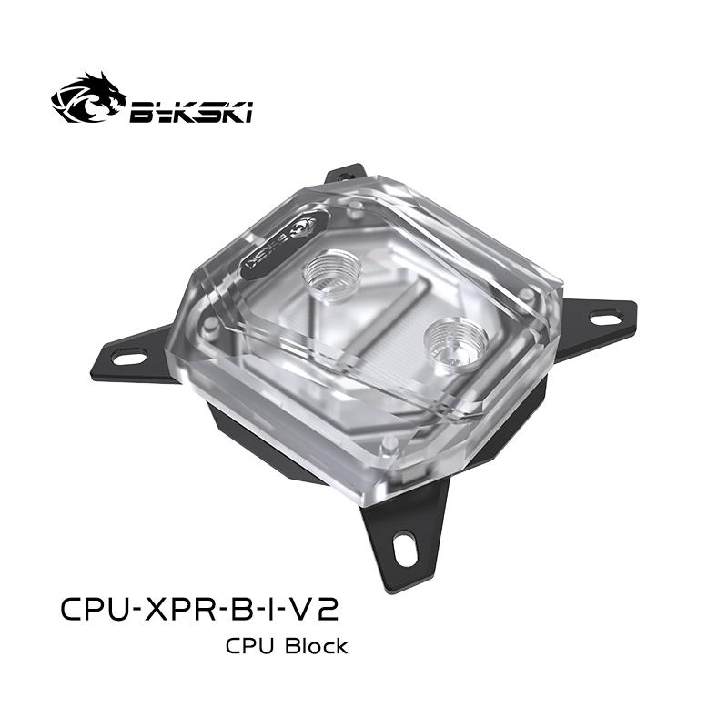 Bykski CPU-XPR-B-I-V2 Intel CPU BLOCKS Jet microchannel RGB
