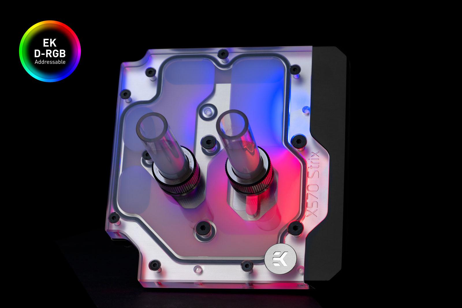 EK WaterBlocks EK-Quantum Momentum ROG Strix X570-E D-RGB - Plexi