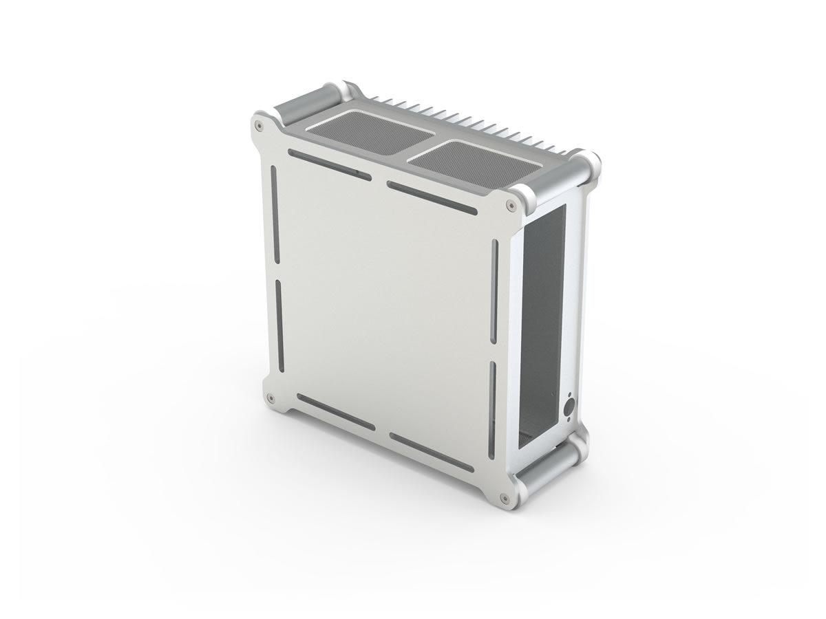 STREACOM DB1 Fanless Chassis Silver (ST-DB1S)