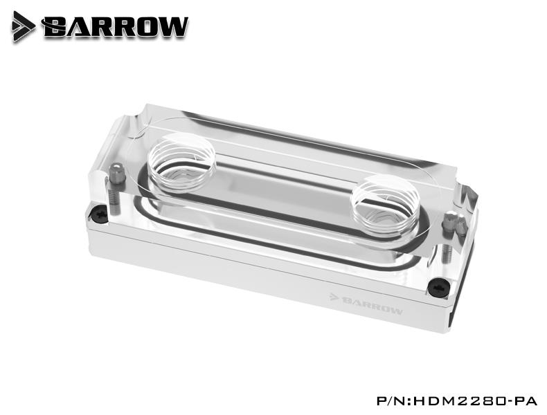 Barrow M2 SSD water block Silver