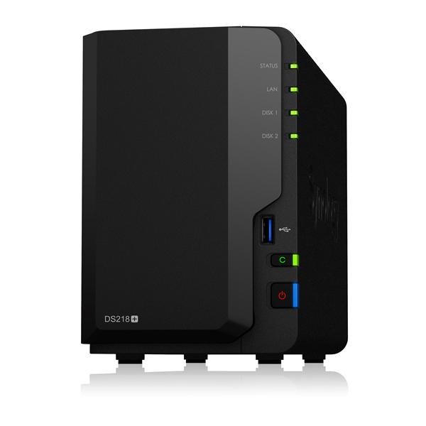 Synology DiskStation DS218+ HDD2台搭載可能