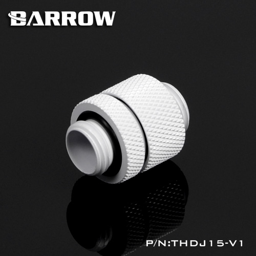 BARROW Minor Adjustment Set - 15mm(Male To Male) White