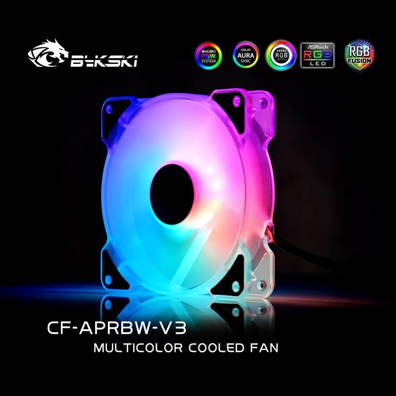 Bykski LED glare chassis silent fan 12cm (CF-APRBW-V3)
