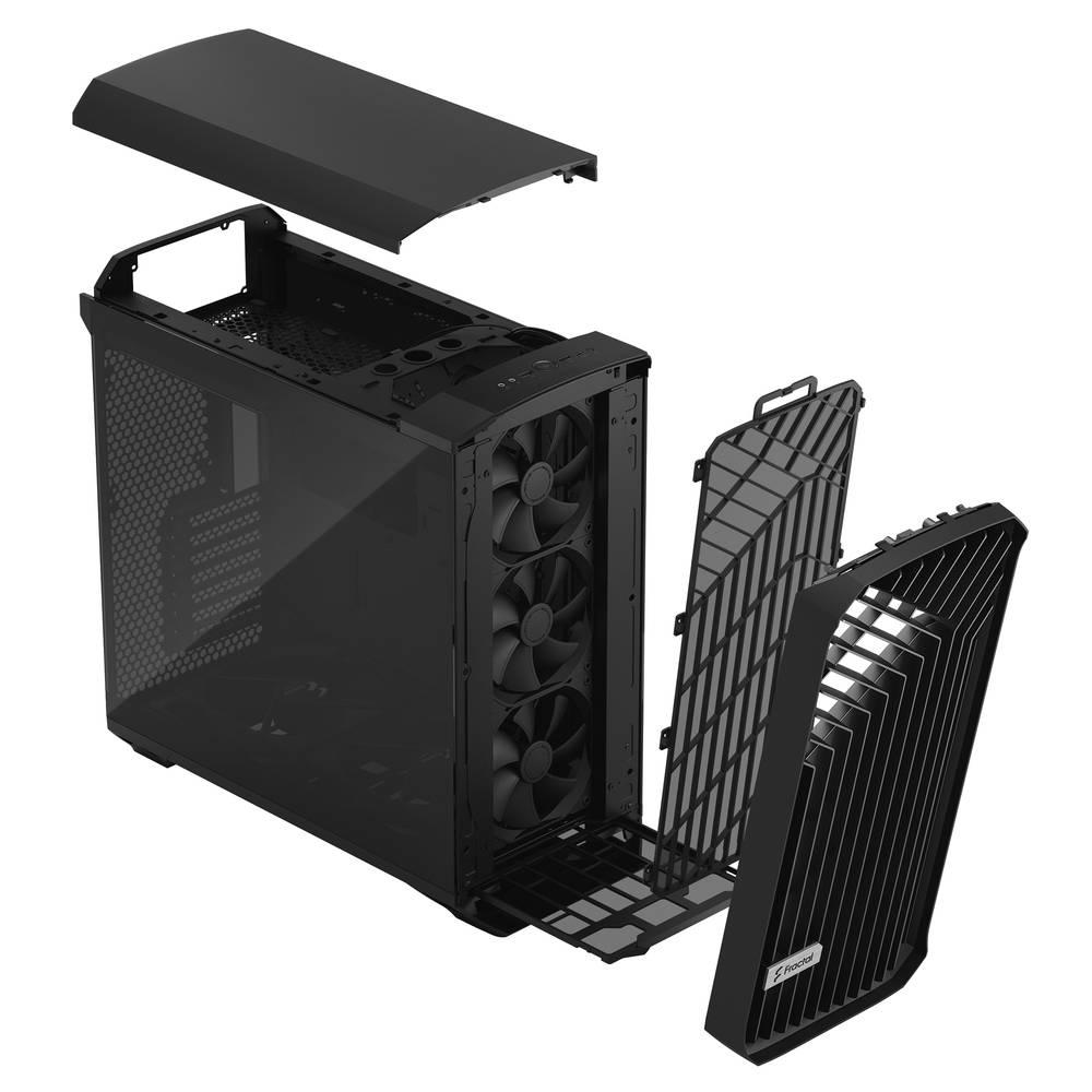 【取寄せ商品:納期要確認】 Fractal Design Torrent Black TG Dark Tint (FD-C-TOR1A-06)