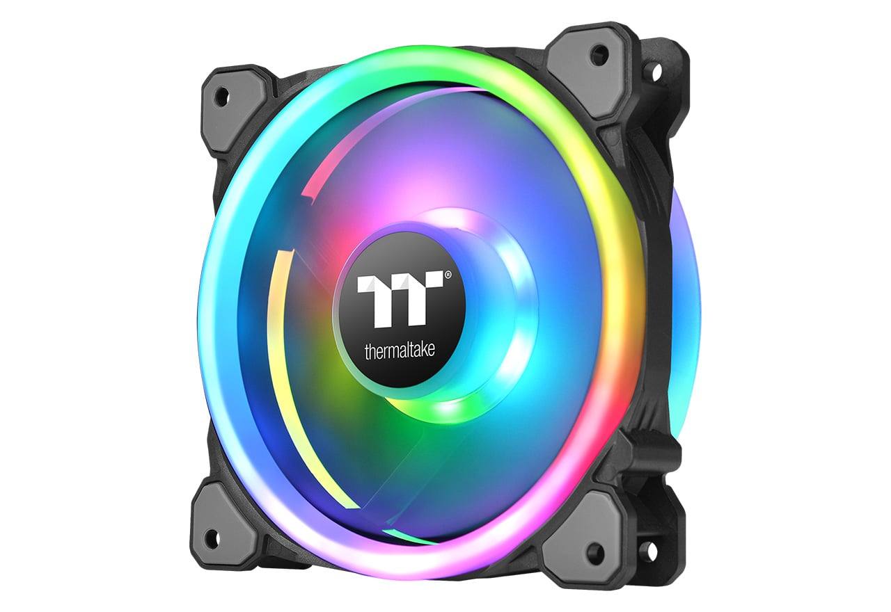Thermaltake Riing Trio PLUS 12 RGB Radiator Fan TT Premium Edition 3Pack (CL-F072-PL12SW-A)