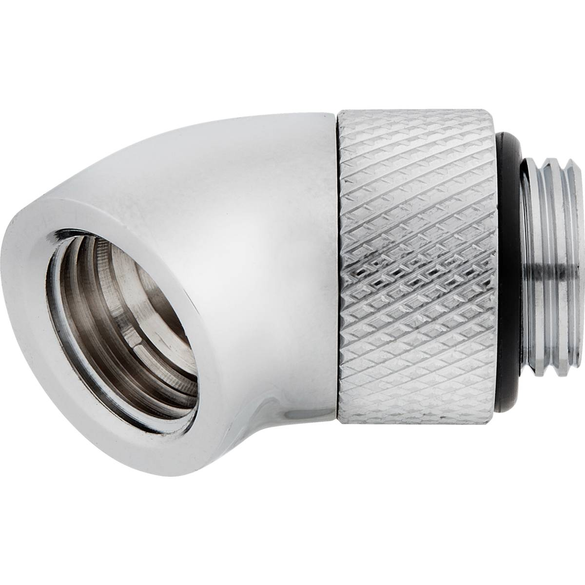 CORSAIR Hydro X Series 45° Rotary Adapter Twin Pack - Chrome