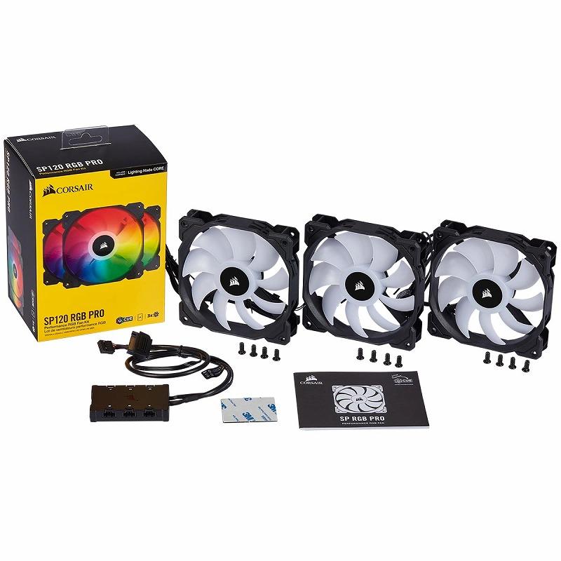 CORSAIR iCUE SP120 RGB PRO Triple Fan Kit
