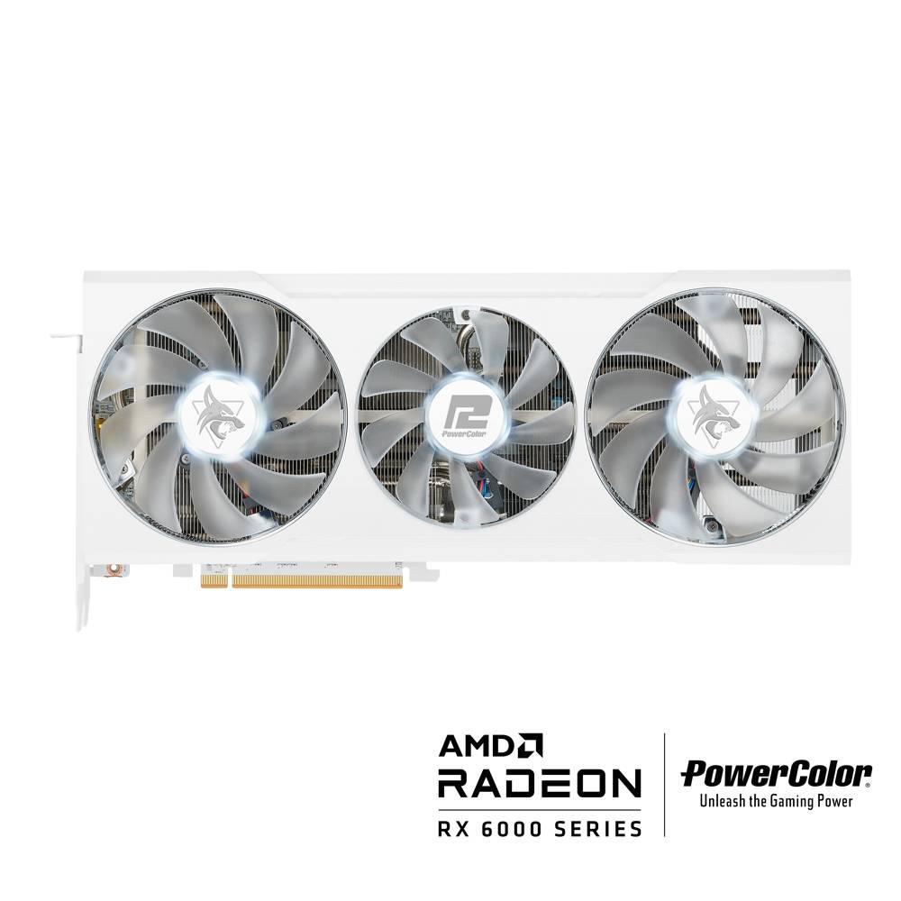 【お一人様一枚限定】 Powercolor Hellhound Spectral White AMD Radeon RX 6700XT 12GB GDDR6 AMD RDNA2 (AXRX 6700XT 12GBD6-3DHLV2)