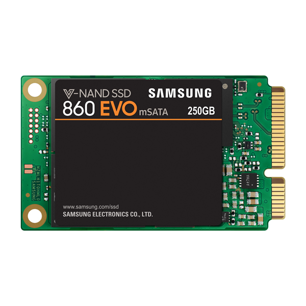SAMSUNG MZ-M6E250B/IT 250GB mSATA SSD 860EVO Series