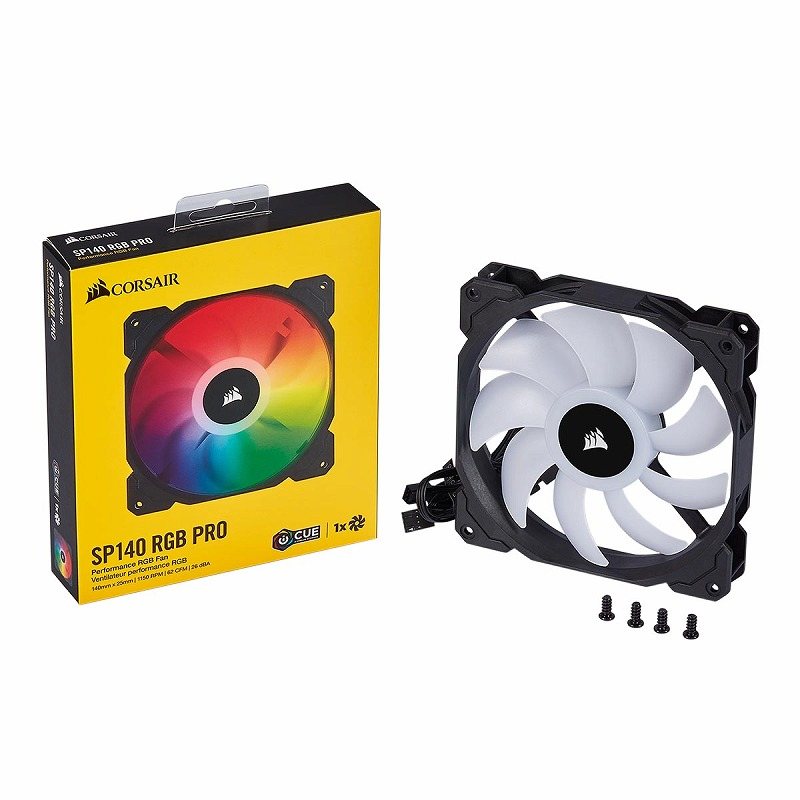 CORSAIR iCUE SP140 RGB PRO Single Pack