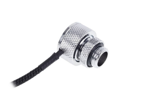 Alphacool Eiszapfen temperature sensor G1/4 IG/IG with AG adapter - chrome
