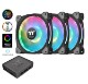 Thermaltake Riing Duo PLUS 12 RGB Radiator Fan TT Premium Edition 3Pack (CL-F073-PL12SW-A)