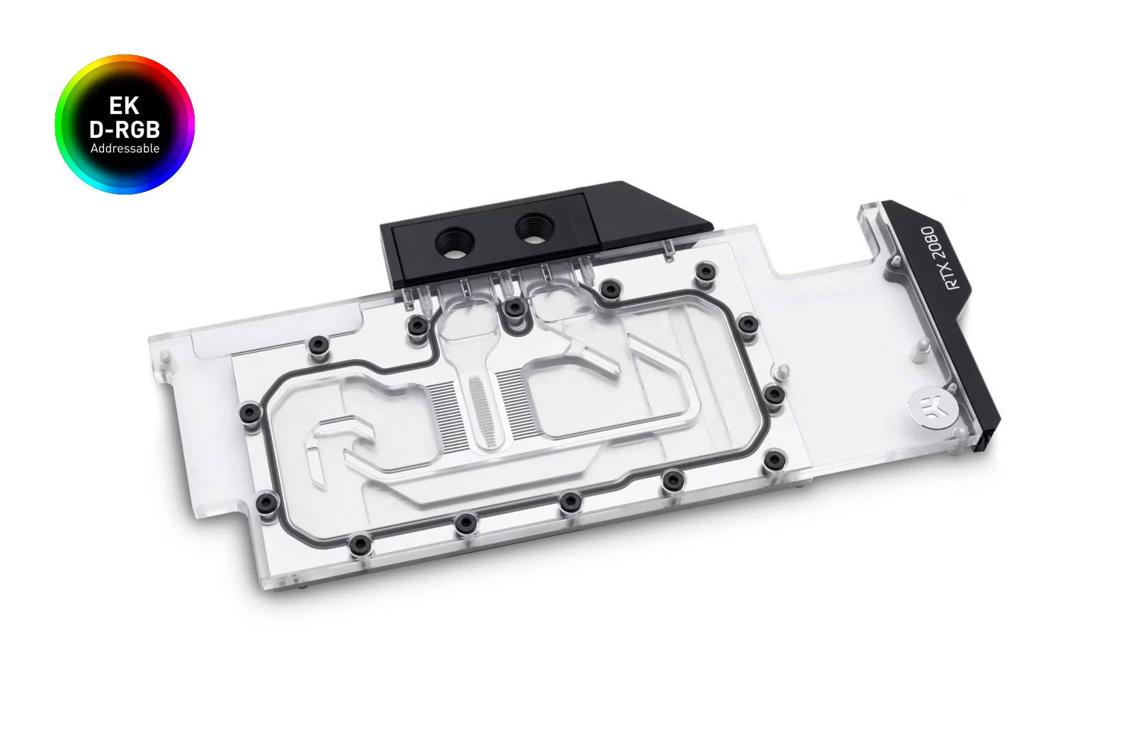 EK WaterBlocks EK-Quantum Vector RTX RE D-RGB - Nickel + Plexi