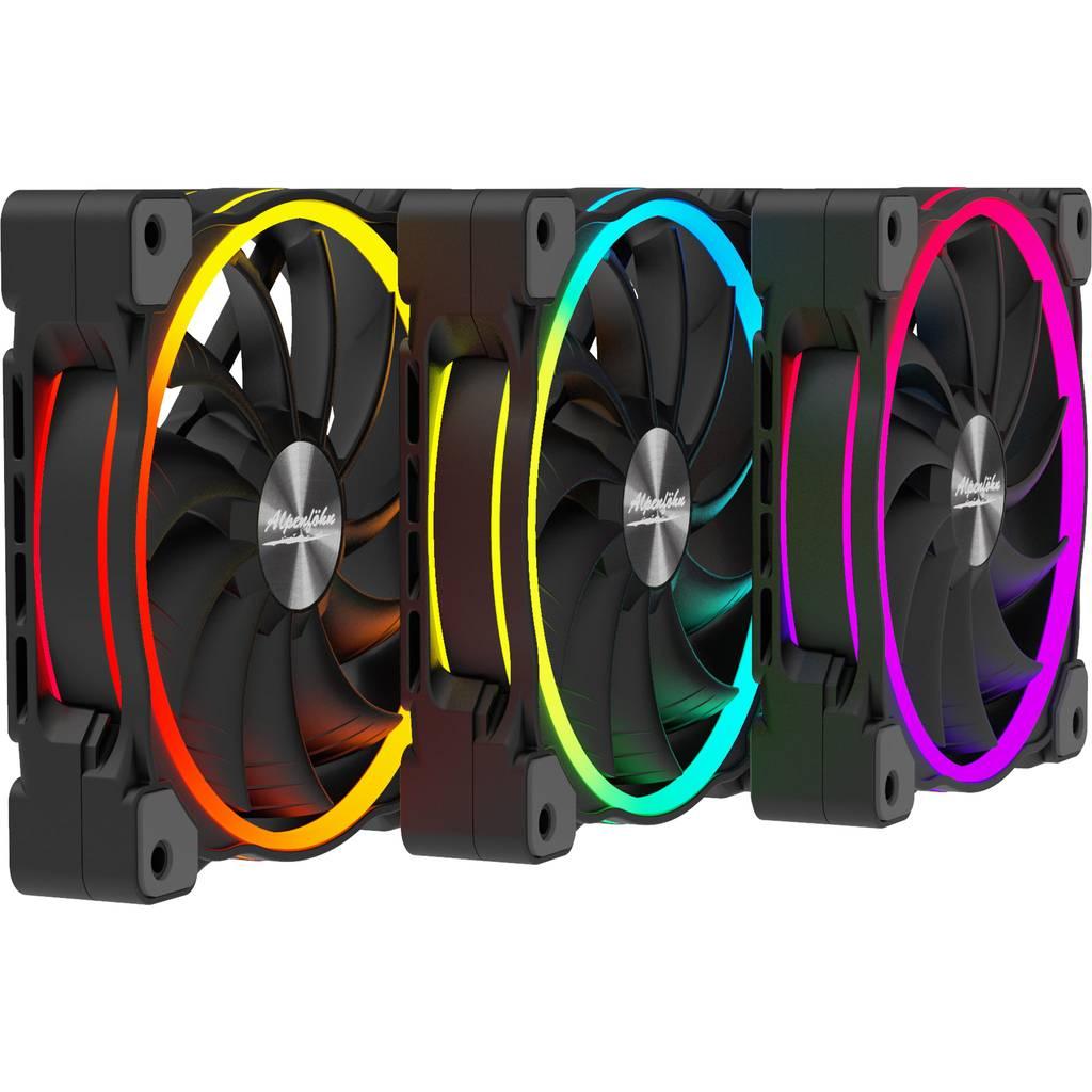 Alpenfoehn Wing Boost 3 ARGB High Speed Triple 120mm Fans