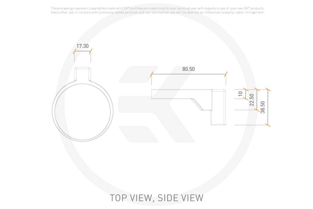 EK WaterBlocks EK-Loop Connect Level Sensor TBE 60