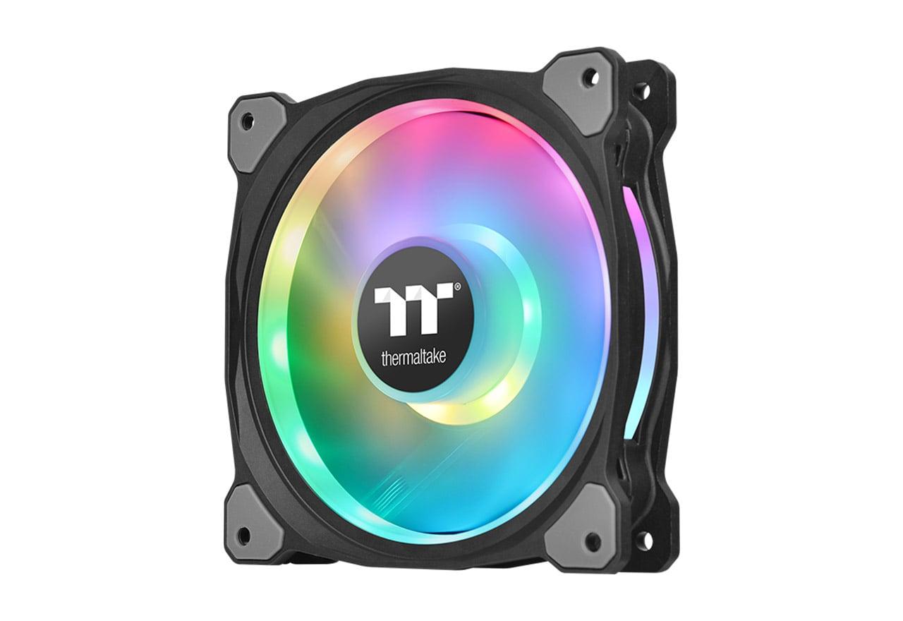 Thermaltake Riing Duo PLUS 14 RGB Radiator Fan TT Premium Edition 3Pack (CL-F078-PL14SW-A)