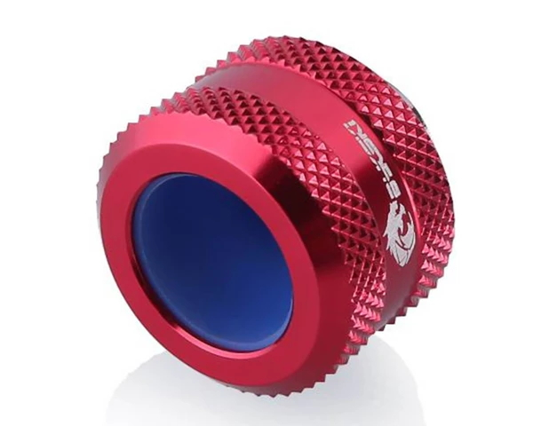 Bykski Anti-Off Rigid 14mm OD Fitting - Red (B-FTHTJ-L14)