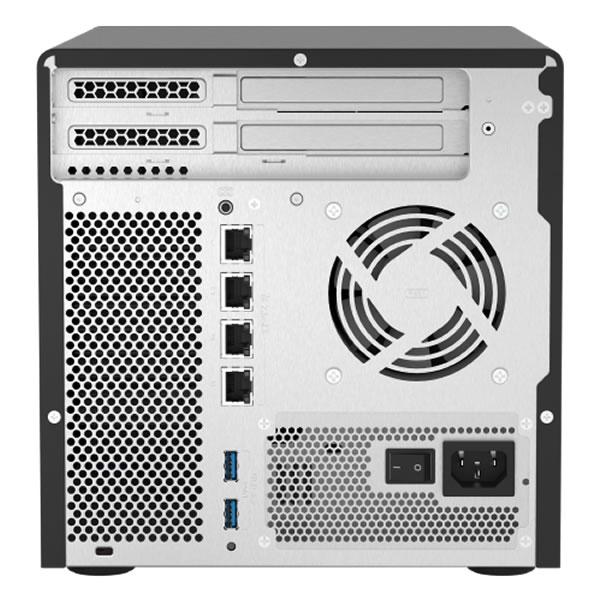 QNAP TS-h686-D1602-8G 2.5GbE 2.5/3.5インチ 4台、2.5インチ 2台搭載可能