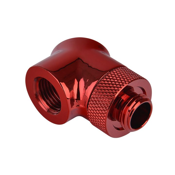 Thermaltake Pacific G1/4 90 Degree Adapter - Red (2-Pack Fittings)