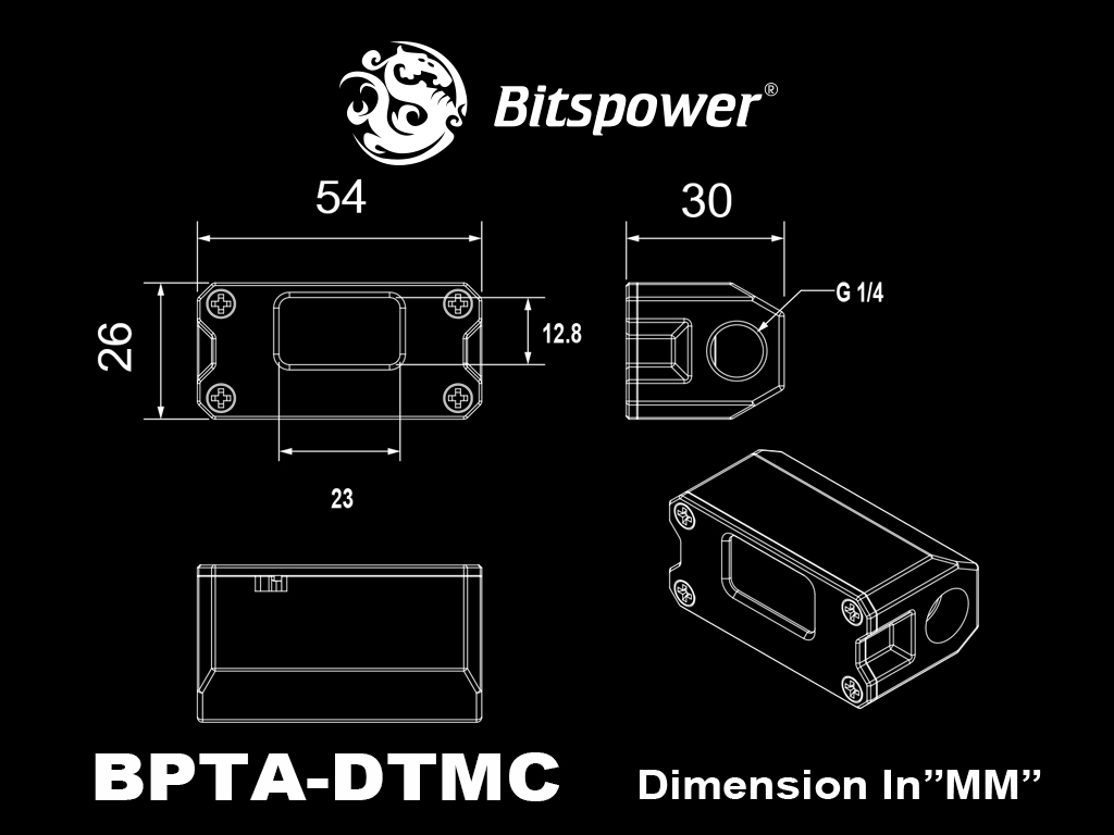 Bitspower Touchaqua Digit Thermal Sensor