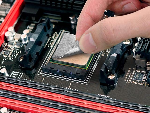 【取寄せ商品:通常納期4〜5営業日】 親和産業 IC Graphite Thermal Pad 40×40 (ICG40)