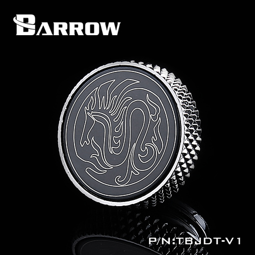 BARROW Mirror Finish Stop Plug Fitting Silver