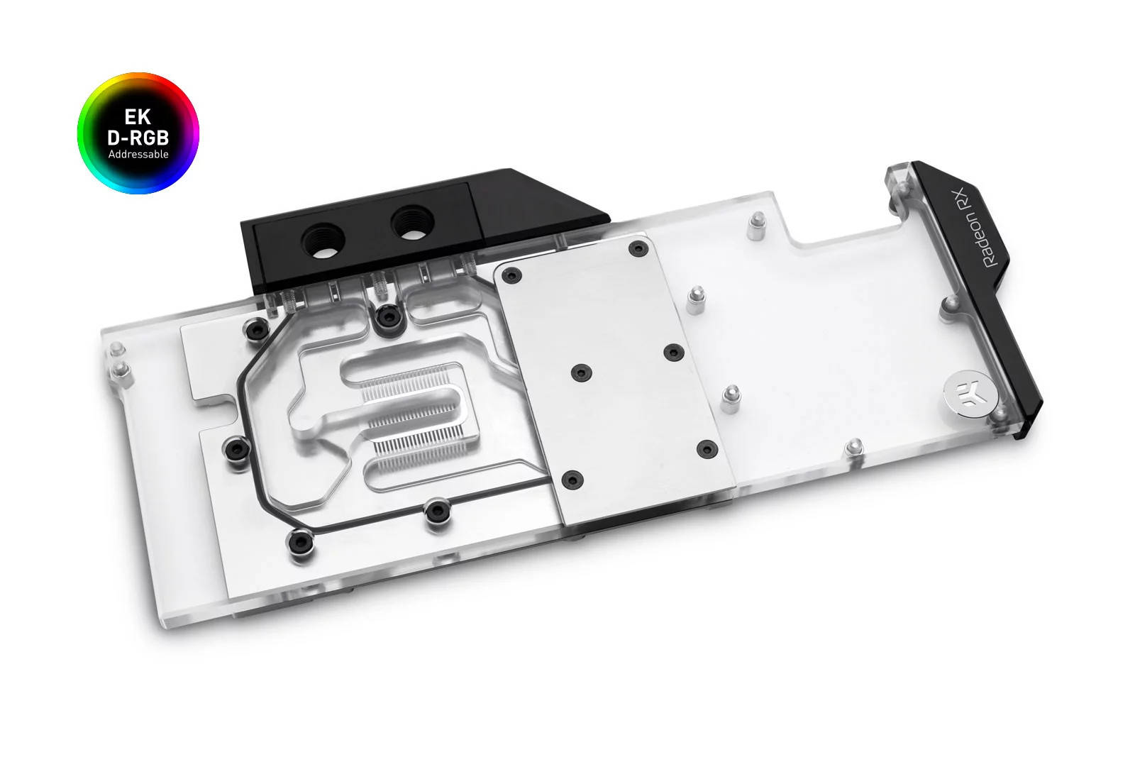 EK WaterBlocks EK-Quantum Vector Radeon RX 5700 +XT D-RGB - Nickel + Plexi