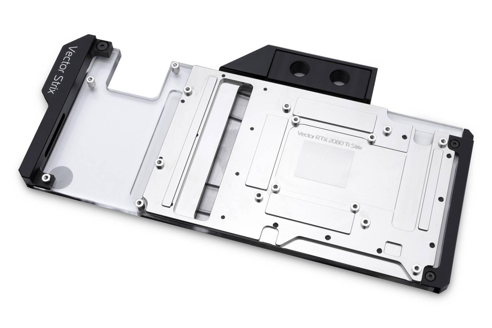 EK WaterBlocks EK-Quantum Vector Strix RTX 2080 Ti D-RGB - Nickel + Plexi