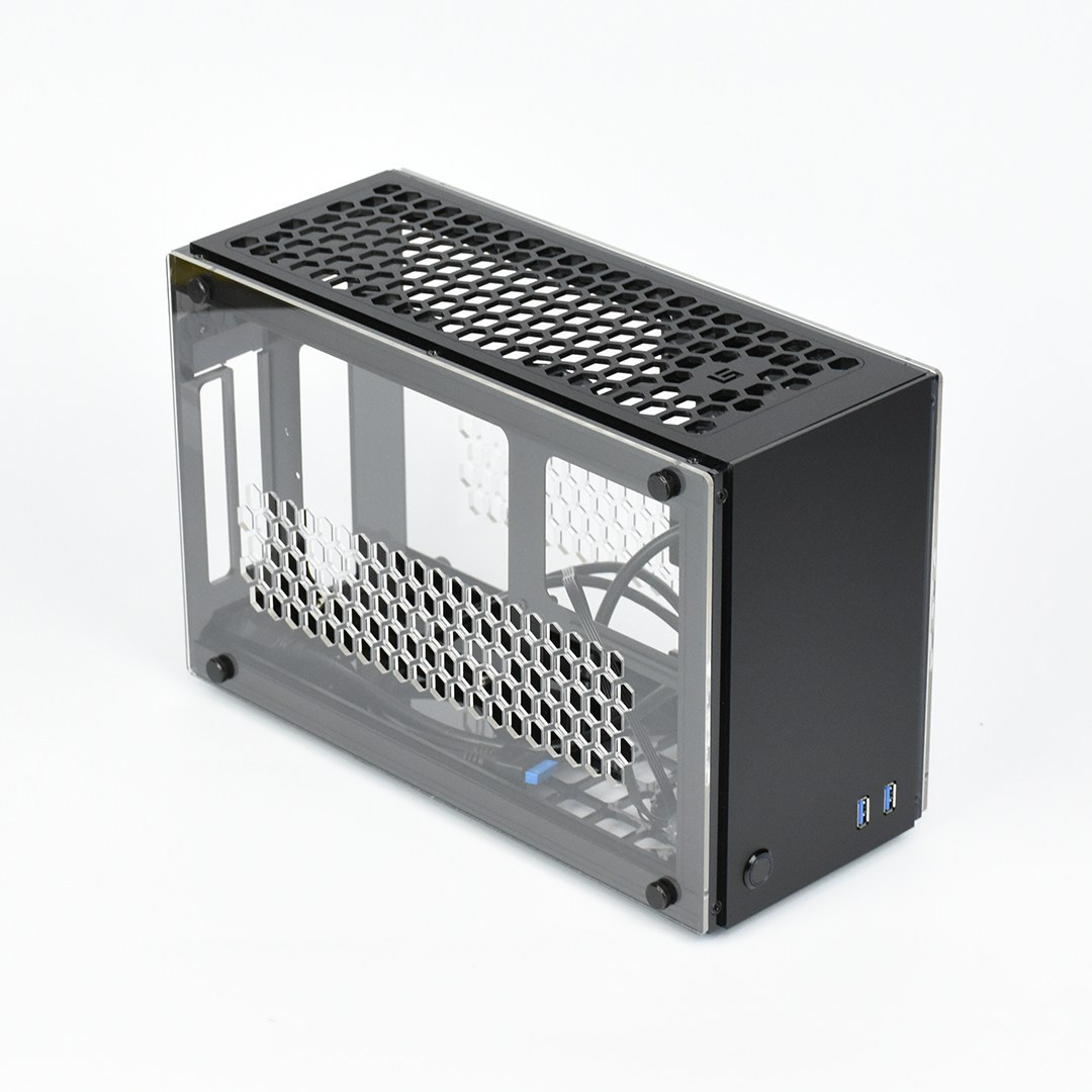 GEEEK A50 PLUS MINI-ITX CASE White