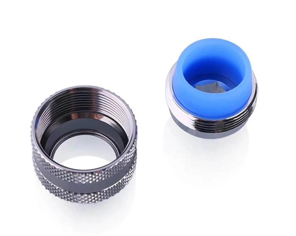 Bykski Anti-Off Rigid 14mm OD Fitting - Silver (B-FTHTJ-L14)