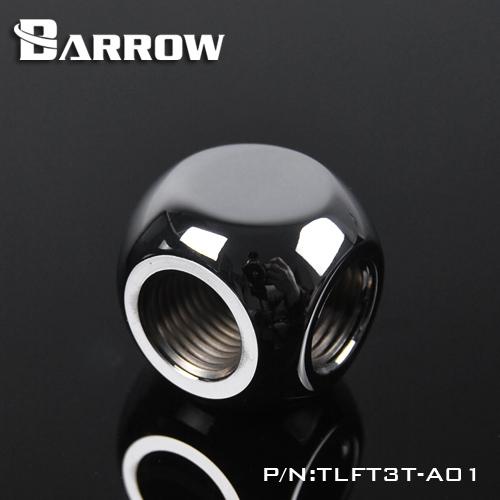 BARROW Metalic Cube Tee - 3Way Silver