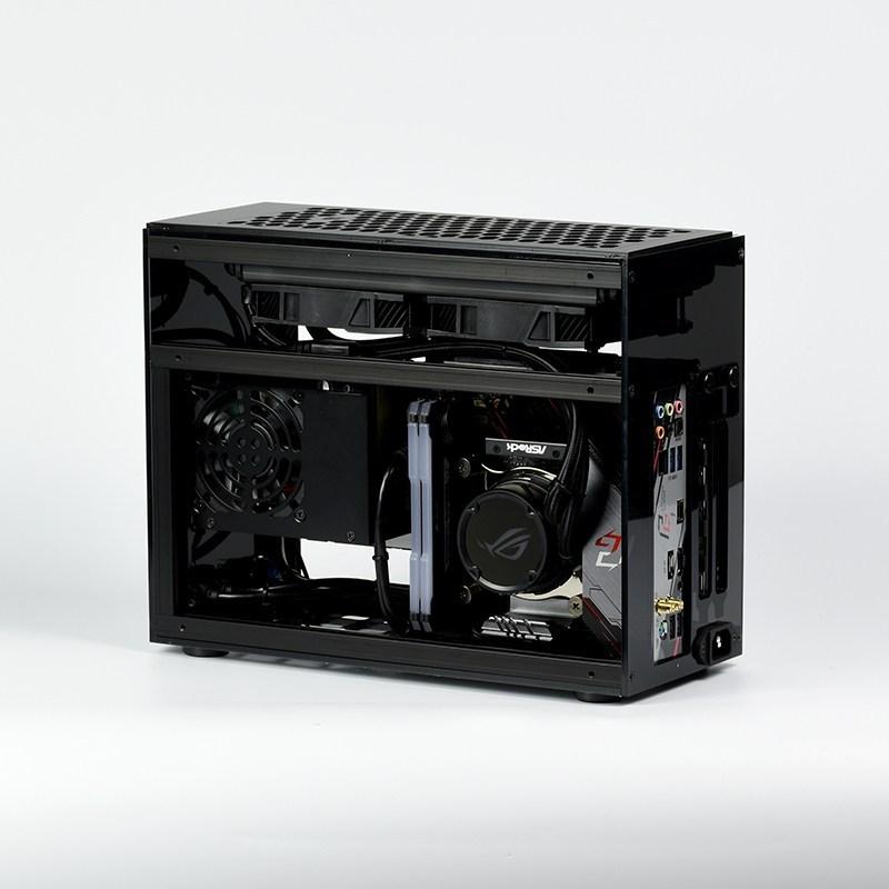 GEEEK A60 PLUS MINI-ITX CASE Matte Black