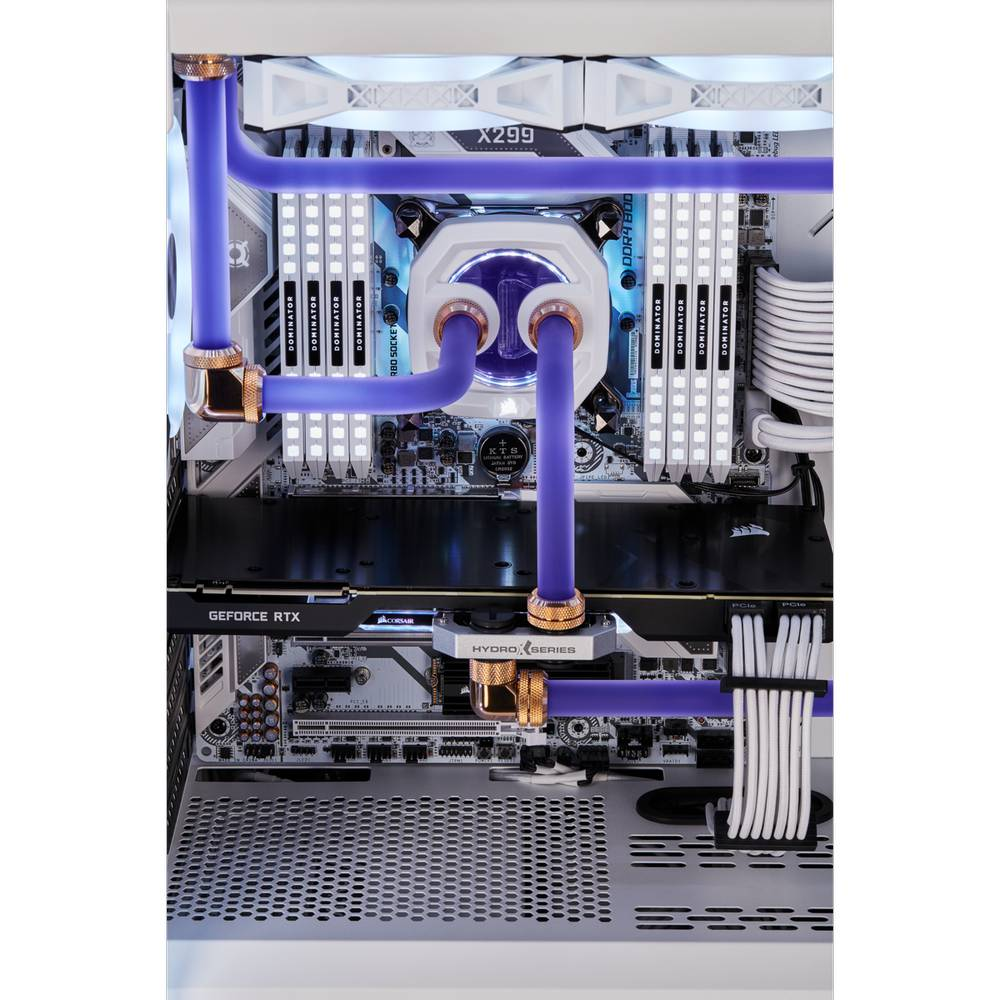 CORSAIR Hydro X Series XT Hardline 12mm Tubing - Satin Transparent