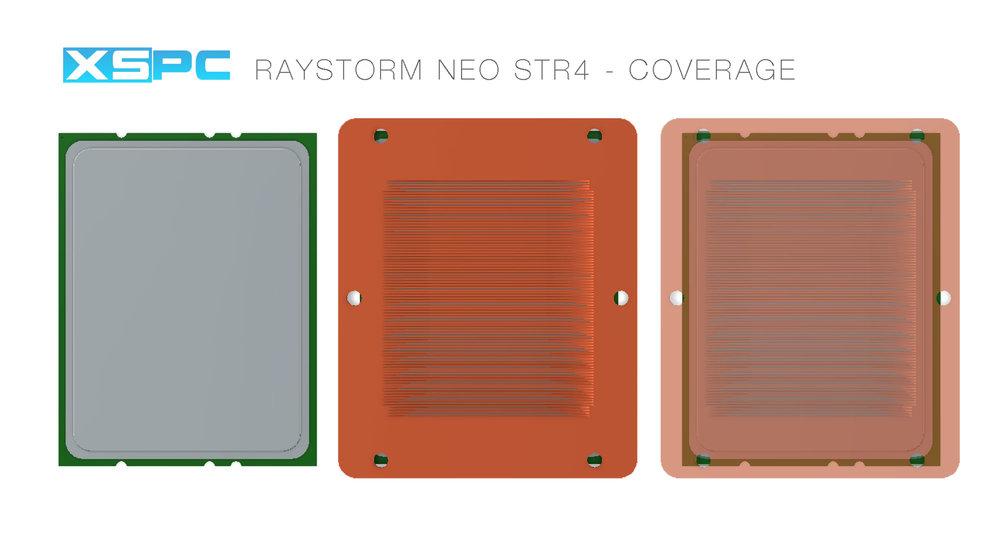 XSPC RayStorm Neo WaterBlock (AMD sTR4) Chrom