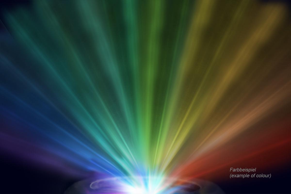 Alphacool Aurora HardTube LED ring 16mm deep black - RGB