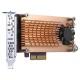 QNAP QM2-2S-220A デュアルM.2 22110/2280 SATA SSD拡張カード
