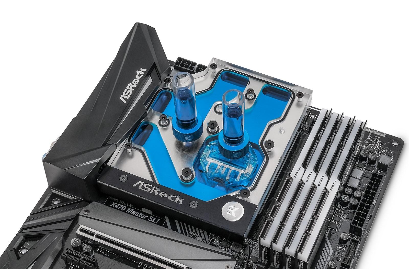 EK Water Blocks EK-FB ASRock X470 Gaming K4 RGB Monoblock - Nickel