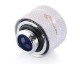 Bykski Anti-Off Rigid 14mm OD Fitting - White (B-FTHTJ-L14)